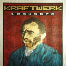 Collectionnisme d'affiches: KRAFTWERK - AT THE PARADISO, AMSTERDAM 23 JAN 2015 !! CARTEL CONCIERTO 30X40 !!. Lote 170464096