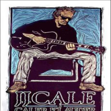 Collezionismo di affissi: J.J. CALE - ALADDIN THEATER, PORTLAND, APRIL 5 & 6, 2009 !! CARTEL CONCIERTO 30X40 !!. Lote 53652005