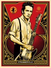 Joe Strummer smoking-Poster-Laminated available-85cm x 55cm-Brand New The Clash