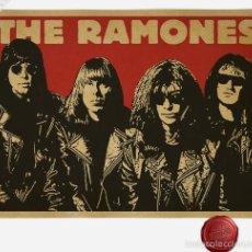 Coleccionismo de carteles: RAMONES - VINTAGE RETRO POSTER !! CARTEL CONCIERTO 30X40 !!. Lote 58017815