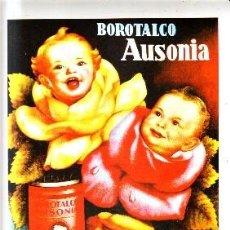 Coleccionismo de carteles: CARTEL REPRODUCCIÓN BOROTALCO AUSONIA. 27,3X38CM. LAMIGRANDE-006,5. Lote 175829817