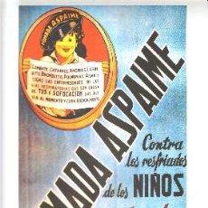 Coleccionismo de carteles: CARTEL REPRODUCCIÓN POMADA ASPAIME. 23,9X38,7CM. LAMIGRANDE-013,5. Lote 175829797