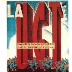 Coleccionismo de carteles: CG1 CARTEL REPUBLICANO FACSIMIL EKL CARTELES GUERRA CIVIL. Lote 65990582