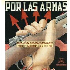 Colecionismo de cartazes: CG1 CARTEL NACIONAL FACSIMIL EKL CARTELES GUERRA CIVIL. Lote 190462907