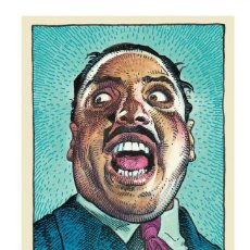 Collectionnisme d'affiches: BIG JOE TURNER - LEGENDS OF THE BLUES, ROBERT CRUMB COLLECTION !! CARTEL CONCIERTO 30X40 !!. Lote 170260728