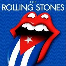 Coleccionismo de carteles: ROLLING STONES - CIUDAD DEPORTIVA LA HABANA, CUBA 25 MARZO 2016 !! CARTEL CONCIERTO 30X40 !!. Lote 253212180