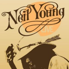Colecionismo de cartazes: NEIL YOUNG - SHAKESPEARE THEATRE 22 JAN 1971 TOUR - CARTEL CONCIERTO 30X40. Lote 72462477