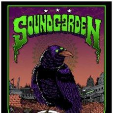 Collectionnisme d'affiches: SOUNDGARDEN - WASHINGTON DC JANUARY 18TH, 2013 !! CARTEL CONCIERTO 30X40 !!. Lote 73543517