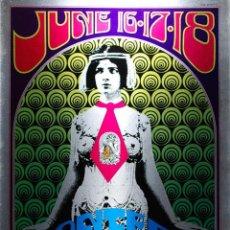 Colecionismo de cartazes: MONTEREY POP FESTIVAL - 16-17-18 JUNE 1968, CARTEL CONCIERTO 30X40. Lote 90191935