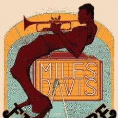 Colecionismo de cartazes: MILES DAVIS - AT FILLMORE NEW YORK CITY JUNE 1970 - CARTEL CONCIERTO 30X40 !!. Lote 135871735