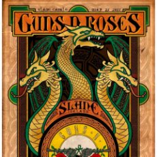 Collezionismo di affissi: GUNS N' ROSES - SLANE CASTLE, DUBLIN, IRELAND MAY 27 2017 !! CARTEL CONCIERTO 30X40 !!. Lote 233314530