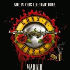 Collezionismo di affissi: GUNS N' ROSES - ESTADIO VICENTE CALDERON MADRID SPAIN 4 JUNIO 2017 !! CARTEL CONCIERTO 30X40 !!. Lote 202981653