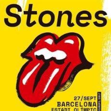 Collezionismo di affissi: ROLLING STONES - NO FILTER TOUR - BARCELONA - SPAIN 27 SEP. 2017 !! CARTEL CONCIERTO 30X40 !!. Lote 137383738