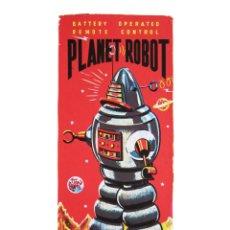 Coleccionismo de carteles: SERIGRAFÍA PLANET ROBOT. FRANCIA, AÑOS 80. Lote 36898089