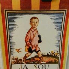 Colecionismo de cartazes: CARTEL ÉPOCA POSTER PUBLICIDAD FACSIMIL 45CMX29CM JOSEP OBIOLS 1919 ESCOLA CATALANA. Lote 99027107