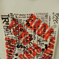 Coleccionismo de carteles: CARTEL ÉPOCA POSTER PUBLICIDAD FACSIMIL 45CMX29C KLEINE DADA SOIREE THEO VAN DOESBURG KURT SCHWITTER. Lote 99027579