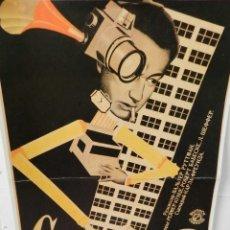 Coleccionismo de carteles: CARTEL POSTER PUBLICIDAD FACSIMIL 45CMX29CM SINFONIA DE UNA GRAN CIUDAD VLADIMIR Y GEORGII STENBERG. Lote 99028051