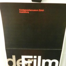 Coleccionismo de carteles: CARTEL POSTER PUBLICIDAD FACSIMIL 45CMX29CM DER FILM JOSEF MÜLLER - BROCKMANN 1959. Lote 99049175