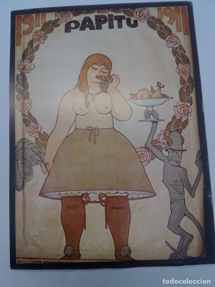 CARTEL O REPRODUCCIÓN PAPITU 1911 (Coleccionismo - Reproducciones de carteles)
