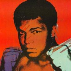 Colecionismo de cartazes: MUHAMMAD ALI - ANDY WARHOL ART - CARTEL CLASSIC 30X40. Lote 99922696