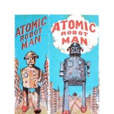 Coleccionismo de carteles: SERIGRAFÍA ATOMIC ROBOT MAN. IMPRESA EN FRANCIA, EN LOS AÑOS 80. Lote 36824966