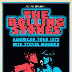 Coleccionismo de carteles: ROLLING STONES - MUNICIPAL AUDITORIUM NASHVILLE TOUR 1972 - CARTEL CONCIERTO 40X30,. Lote 253212140