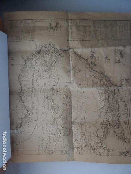 GENERAL DESCRIPTION OF AFRICA RELATIVE TO IT´S GEOGRAPHICAL SUBDIVISION TRADE PRODUCE 1790 (Coleccionismo - Reproducciones de carteles)
