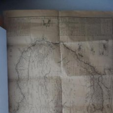 Coleccionismo de carteles: GENERAL DESCRIPTION OF AFRICA RELATIVE TO IT´S GEOGRAPHICAL SUBDIVISION TRADE PRODUCE 1790. Lote 113650447