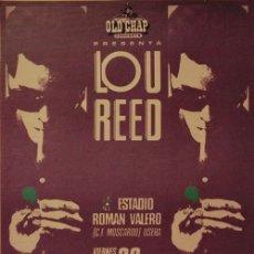 Coleccionismo de carteles: LOU REED - ESTADIO ROMAN VALERO 20 JUNIO 1980 !! CARTEL CONCIERTO 30X40 !!. Lote 210732777