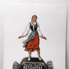 Coleccionismo de carteles: REPRODUCCION CARTEL EXQUISITAS PASTILLAS NESQUITAS CONFITURAS GOYA VITORIA. - LAMIGRANDE-192 ,5. Lote 144542976