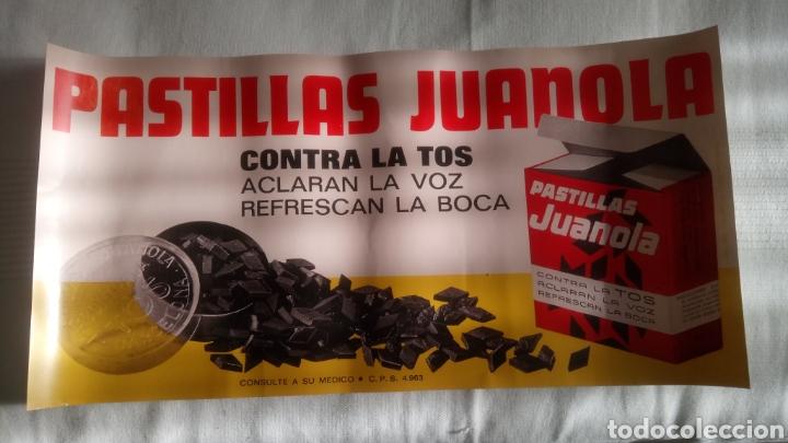 LÁMINA REPRO DE PASTILLAS JUANOLA. (Coleccionismo - Reproducciones de carteles)