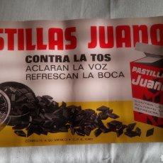 Coleccionismo de carteles: LÁMINA REPRO DE PASTILLAS JUANOLA.. Lote 122239548