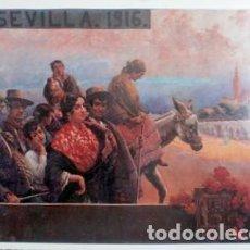 Collectionnisme d'affiches: REPRODUCCION CARTEL SEVILLA 1916. 30 X 36,5 CM. LAMIGRANSEV-036. Lote 124026043