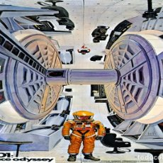Collectionnisme d'affiches: 2001: A SPACE ODYSSEY (1968) - CARTEL CLASSIC CINE 30X40. Lote 132247195