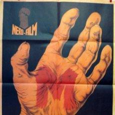 Coleccionismo de carteles: M EL VAMPIRO DE DÜSSELDORF. POSTER.1931. Lote 206406025