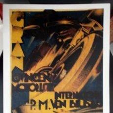 Coleccionismo de carteles: REPRODUCCION CARTEL GRAN QUINCENA MOTORISTA INTERNACIONAL EN BILBAO 1932. LAMIGRANDE-279. Lote 133300638