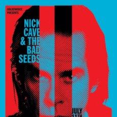 Collectionnisme d'affiches: NICK CAVE & THE BAD SEEDS - SHIRINE AUDITORIUM, JULY 11TH 2014 TOUR !! CARTEL CONCIERTO 30X40 !!. Lote 137456440