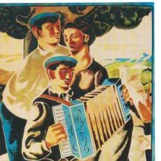 Collectionnisme d'affiches: REPRODUCCIÓN CARTEL SAN SEBASTIAN, GRAN SEMANA VASCA DEL 18 AL 25 DE SEPTIEMBRE DE 1932 - LAMI-018,6. Lote 165201626