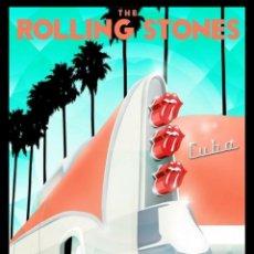 Colecionismo de cartazes: ROLLING STONES - CIUDAD DEPORTIVA LA HABANA, CUBA 25 MARZO 2016 !! CARTEL CONCIERTO 30X40 !!. Lote 290106658