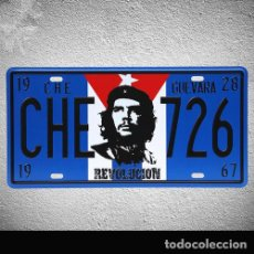 Coleccionismo de carteles: CHE GUEVARA - RARO CARTEL METALICO 30X15 - !! VINTAGE COLLECTORS !! NUEVO. Lote 142695254
