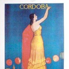 Colecionismo de cartazes: REPRODUCCION DE CARTEL CORDOBA 1939 FERIA NTRA. SRA. DEL LA SALUD 25 - 31 DE MAYO - LAMIGRANCORD-035. Lote 144843230