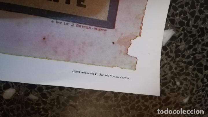 Coleccionismo de carteles: CARTEL ANTIGUO DE - PLAZA DE TOROS DE MADRID 1913 - REPRODUCCION FIEN - TAMAÑO 52 X 25 CMS - Foto 3 - 221980902