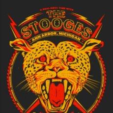 Colecionismo de cartazes: THE STOOGES - ANN ARBOR, MICHIGAN, POP FESTIVAL 1970 !! CARTEL CONCIERTO 30X40 !!. Lote 156614397