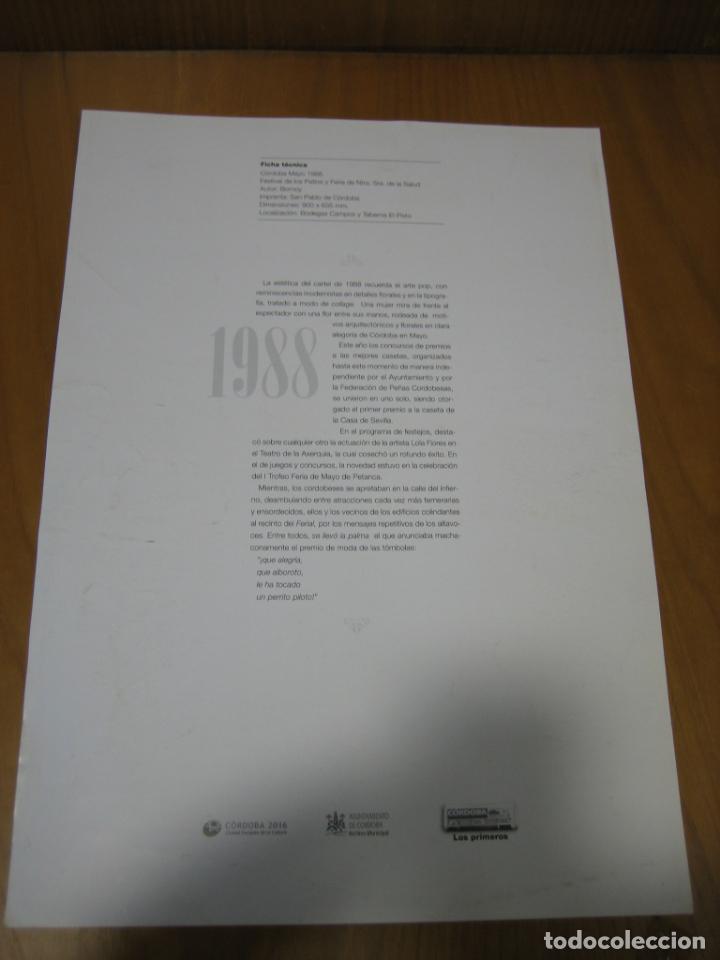 Coleccionismo de carteles: Cartel feria de Córdoba. Reproducción colecionable - Foto 2 - 148582286