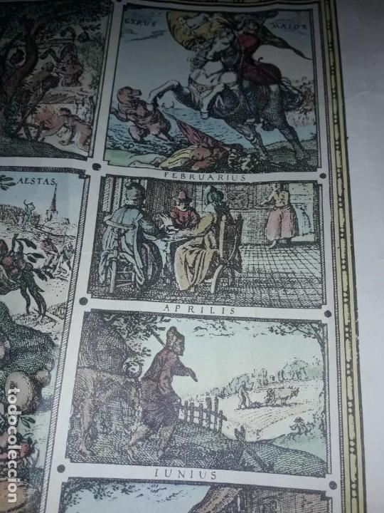 Coleccionismo de carteles: Precioso mapamundi en latín a colores reproducción año 1983 - Foto 18 - 148935442