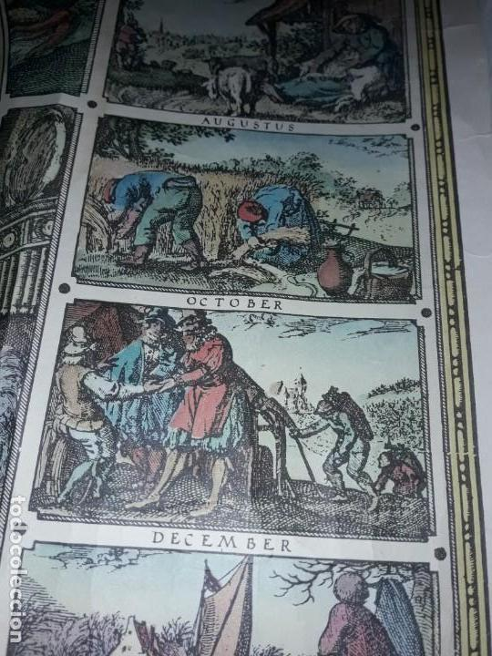 Coleccionismo de carteles: Precioso mapamundi en latín a colores reproducción año 1983 - Foto 19 - 148935442