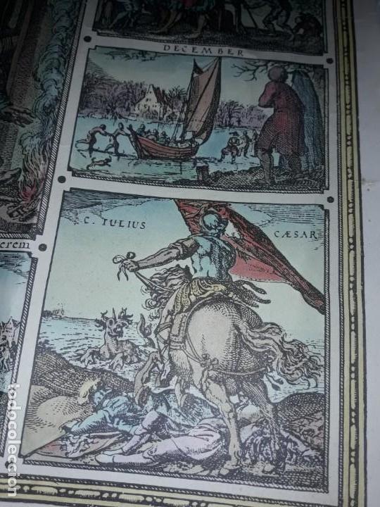 Coleccionismo de carteles: Precioso mapamundi en latín a colores reproducción año 1983 - Foto 20 - 148935442