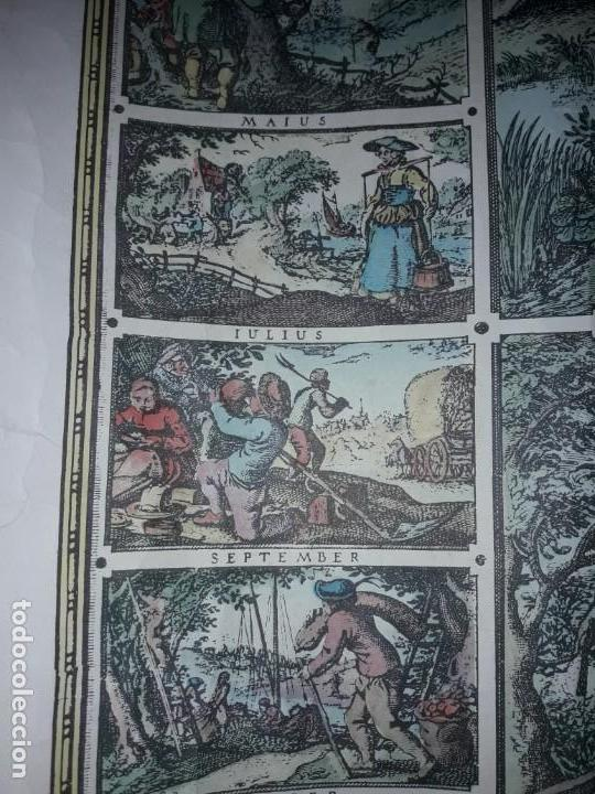 Coleccionismo de carteles: Precioso mapamundi en latín a colores reproducción año 1983 - Foto 22 - 148935442
