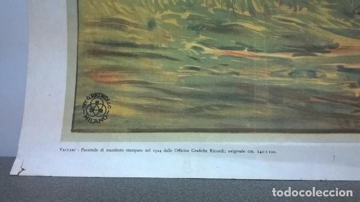 Coleccionismo de carteles: Cartel.Hipodomo de Mirabello.Facsimil.Medida 50x70. - Foto 6 - 148994790