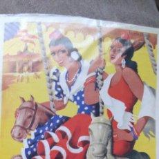 Coleccionismo de carteles: CARTEL FERIA DE MAYO DE CÓRDOBA, 1953, RÉPLICA. Lote 166664470